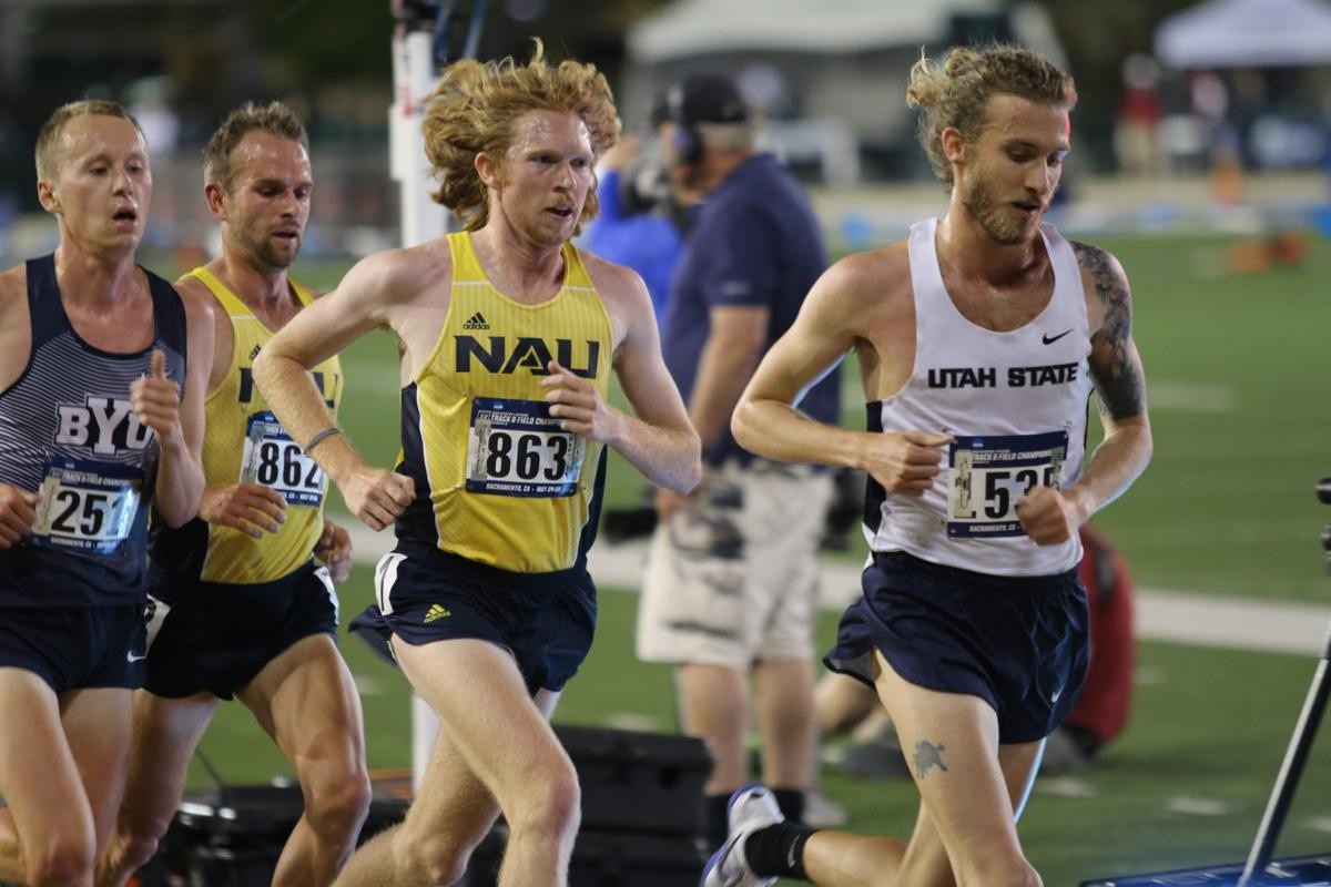 Tyler Day broke Galen Rupp's American collegiate 5,000m record indoor record on Saturday at Boston University