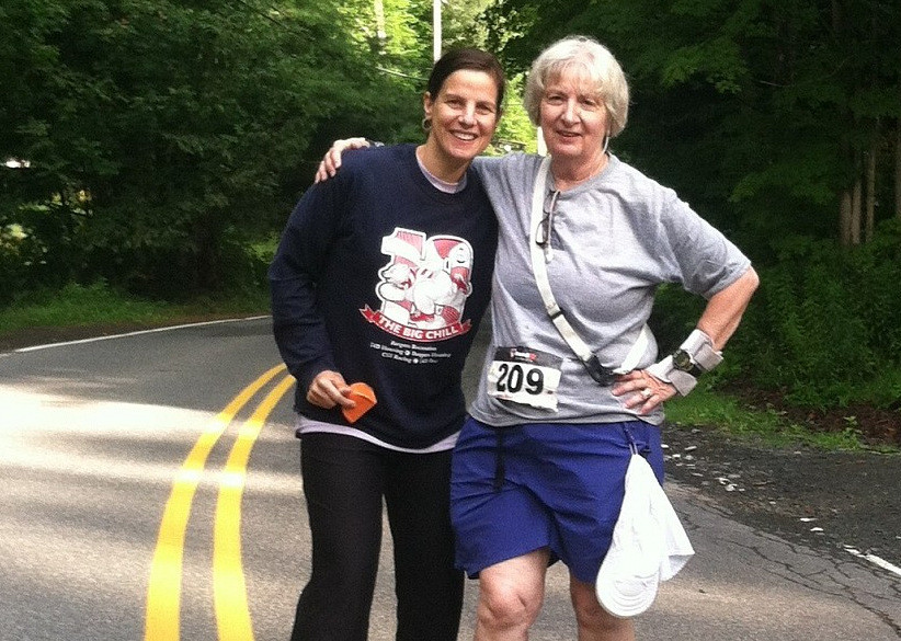 Cathy Troisi is doing Boston Marathon for the 50th time