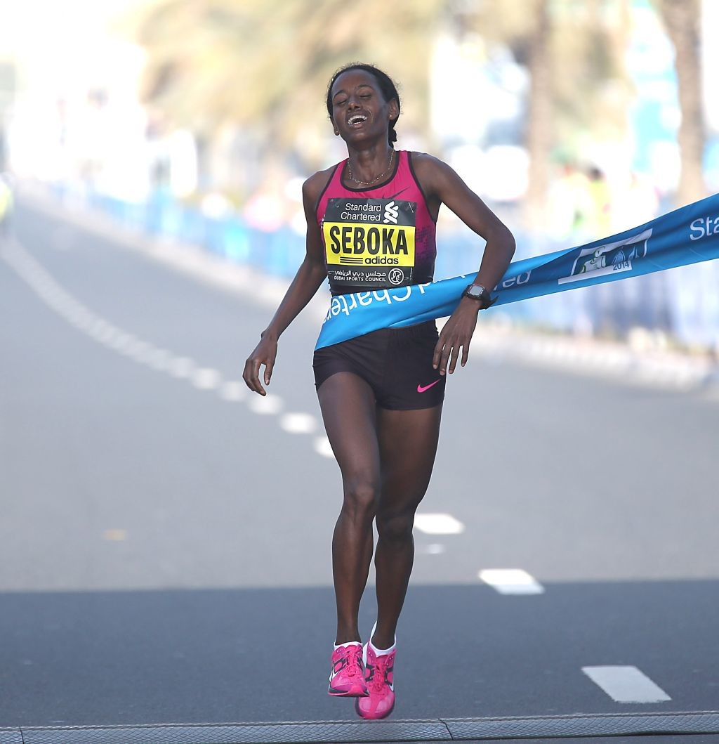Mulu Seboka of Ethiopia will return to Shenzhen Marathon on Sunday, eyeing to improve on her finish from last year