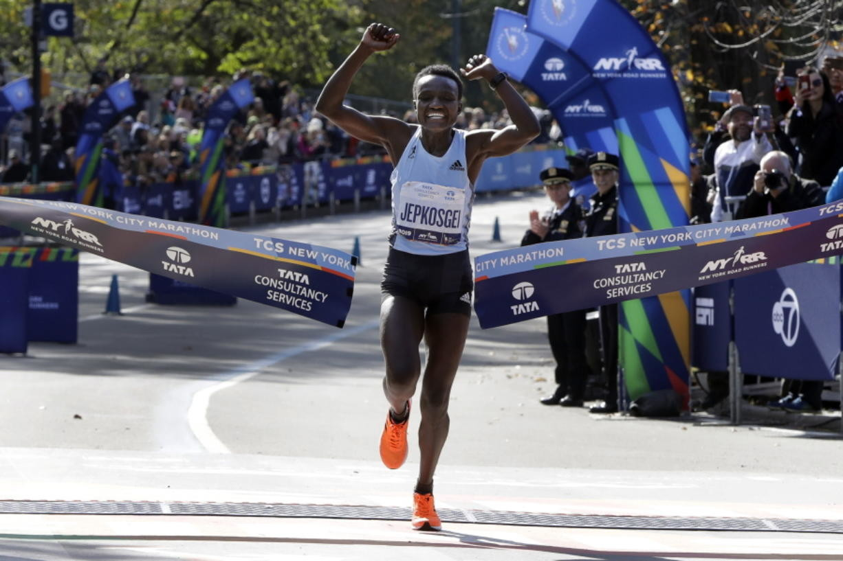 Defending Champions Joyciline Jepkosgei and Belay Tilahun will Return for the United Airlines NYC Half Marathon