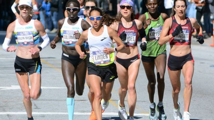 After placing fourth at the Olympic Trials, Desiree Linden planned to race the Boston Marathon. Like everybody else, she's trying to figure out what's next