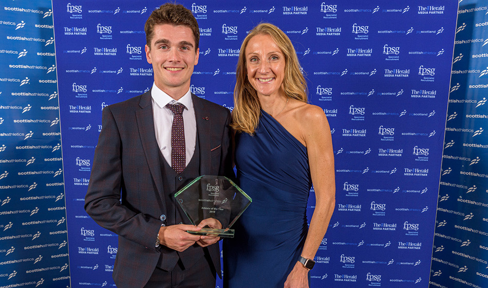 Callum Hawkins was named Scottish athlete of the year