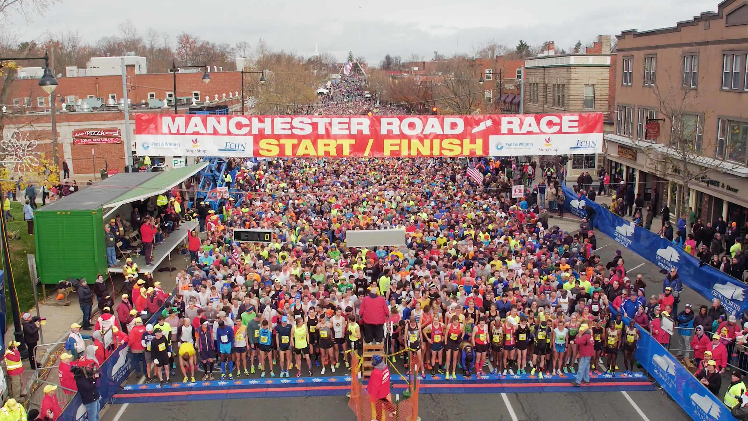 The 82nd Manchester Road Race Committee will honor veterans and current members of the U.S. Armed Forces at this year's race on Thanksgiving Day