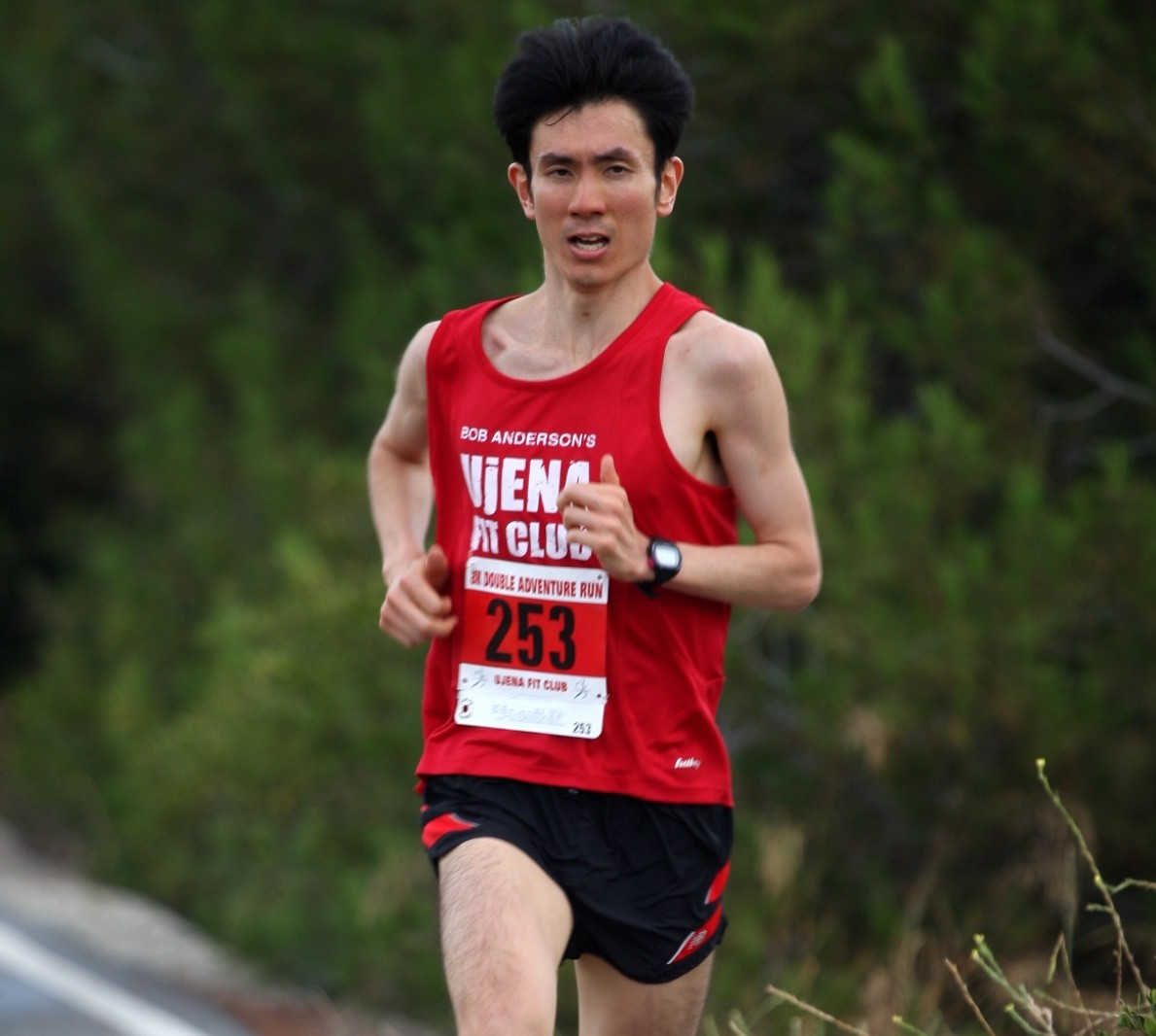 Global Run Challenge Profile:  Sam Tada's first run was a 1500m Race, he finished third in five flat