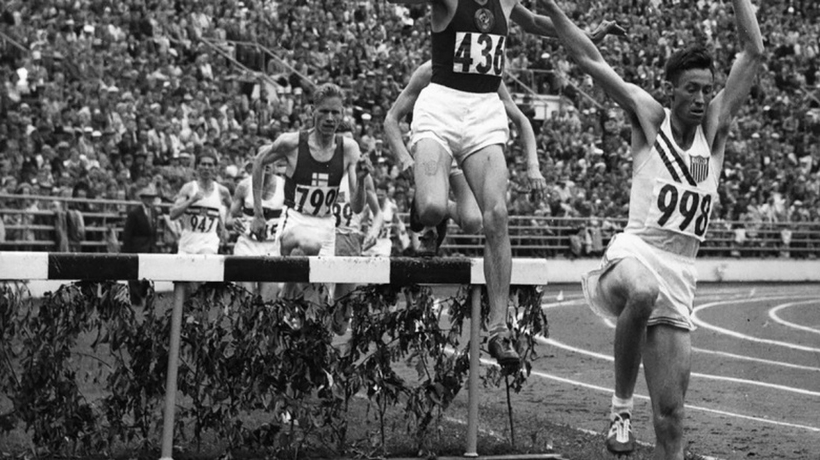 Ashenfelter, Olympic Gold Medalist Dies at 94