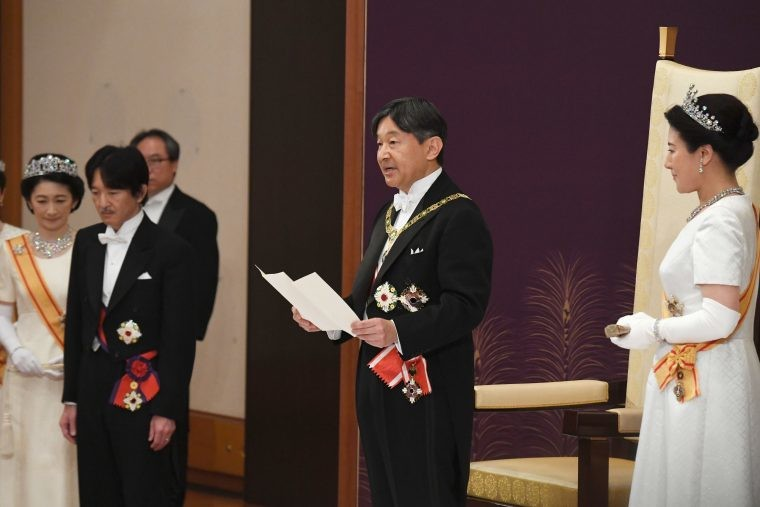 Japanese Emperor Naruhito is excited for 2020 Tokyo Olympic Games despite coronavirus concern
