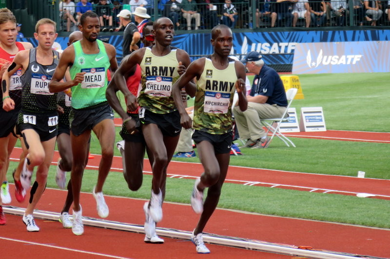 Shadrack Kipchirchir will lead the US senior men's team at the IAAF World Cross Country Championships in Aarhus, Denmark on March 30
