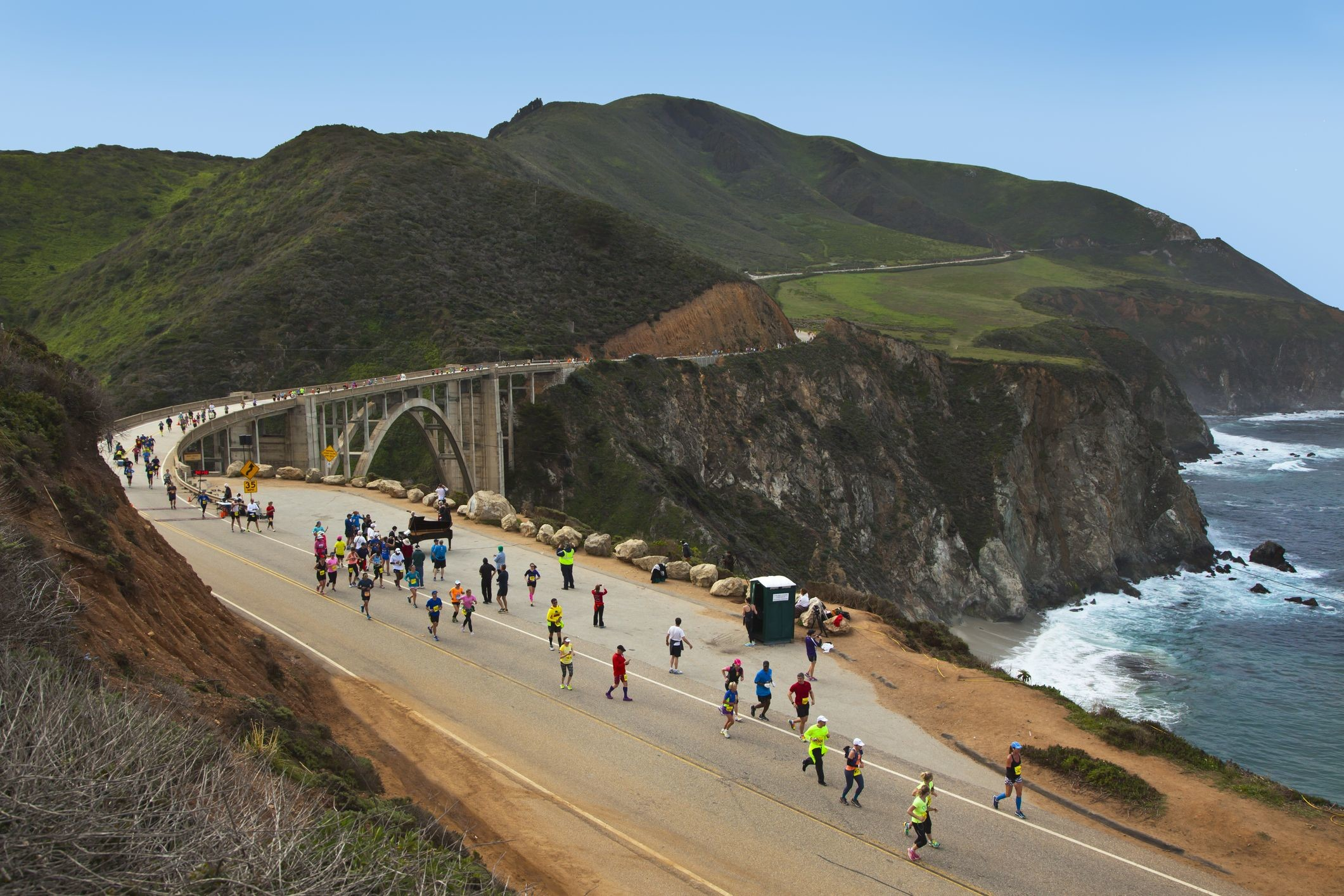 Organizers of the 35th Annual Big Sur International Marathon postponed Due to Growing Coronavirus Threat