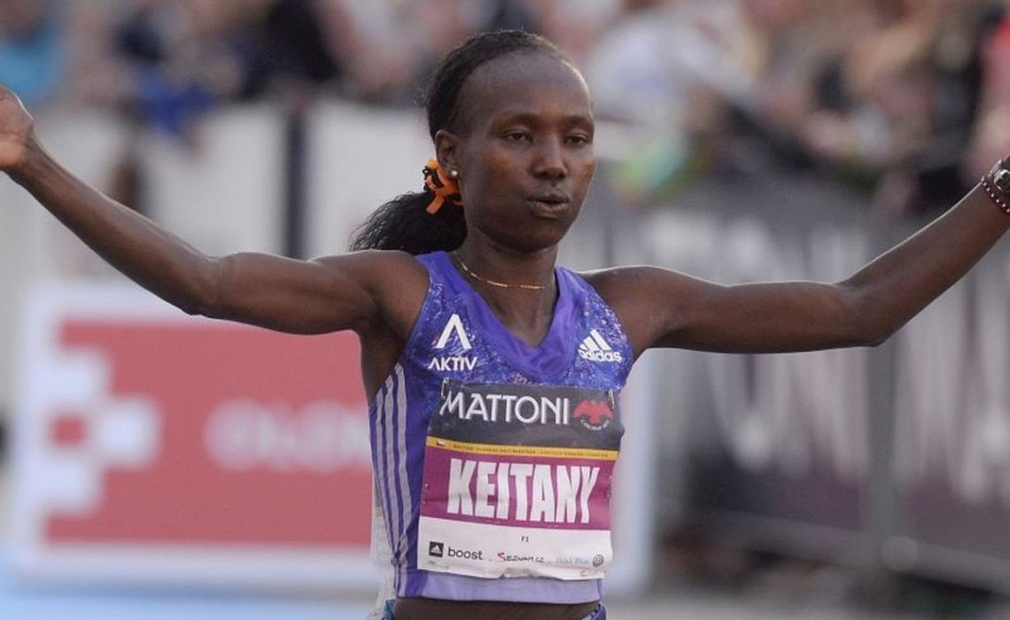 Mary Keitany wants to follow in the footsteps of the legend Paula Radcliffe