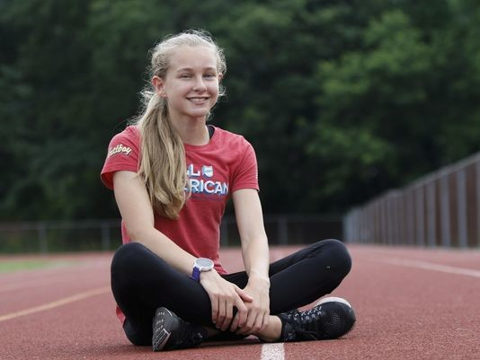 High School runner Katelyn Tuohy has set her sights on the 2020 US Olympic trials