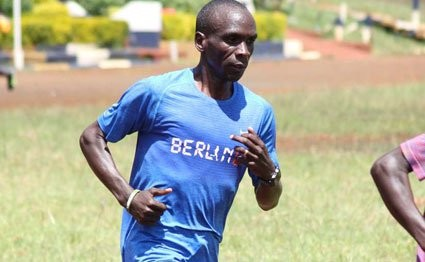 Kenya's Olympic Marathon Champion has ruled out pushing for a new world record in London