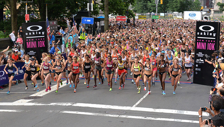 Record number to race NYRR New York Mini 10K will Surpass 200,000th woman finisher