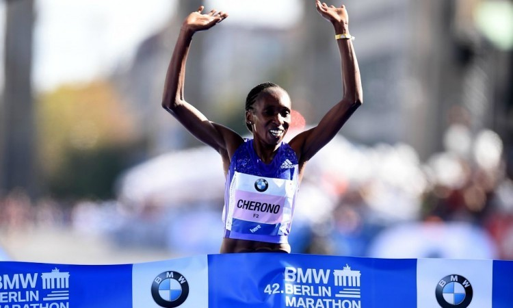 Three-time Berlin Marathon champion Kenya's Gladys Cherono has predicted that the Women-only World Record could go down at the next London Marathon