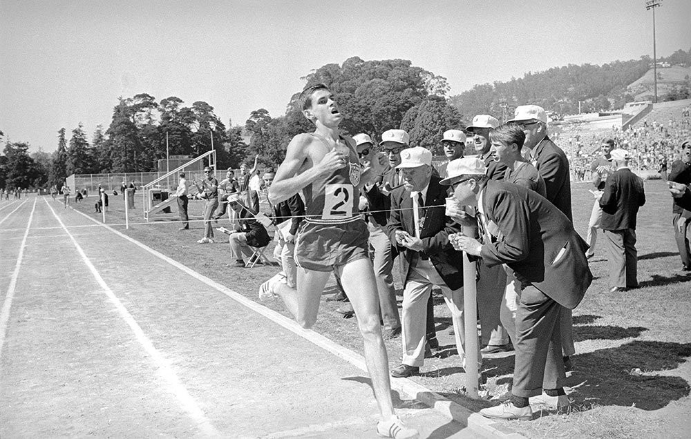 The first High School Runner to run a sub four minute mile in 1964, Jim Ryun is 71 today
