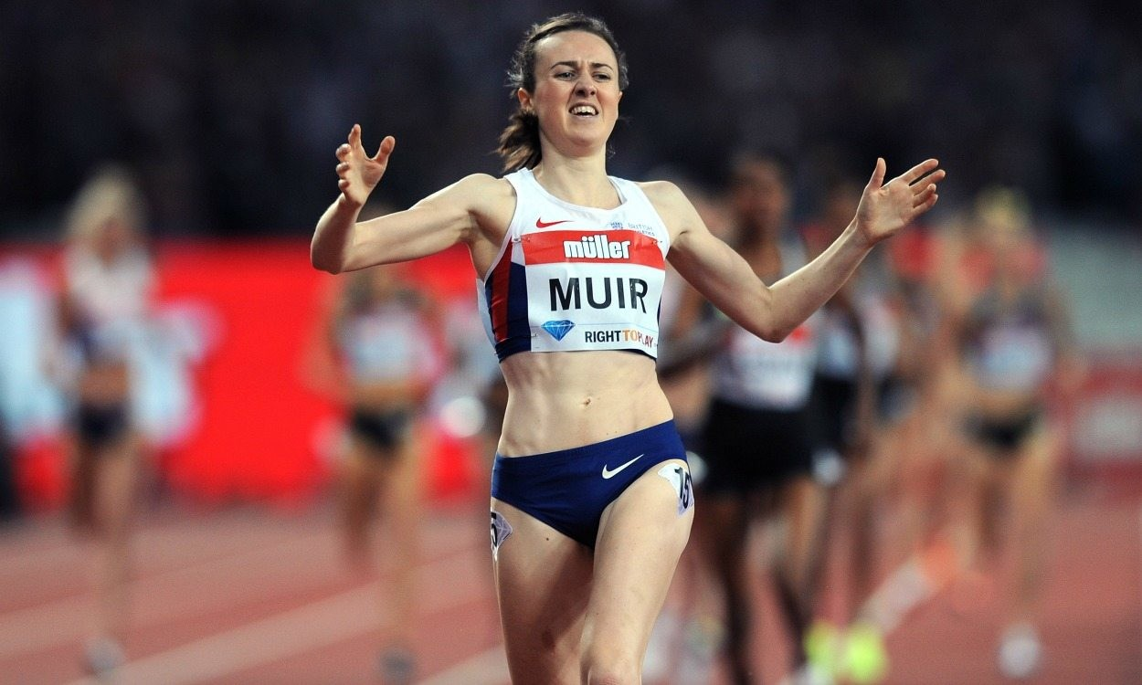 Laura Muir picked up another award as focus turns to Olympics