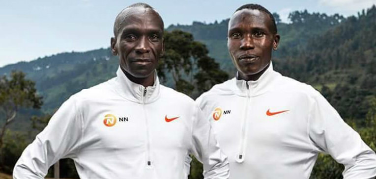 Eliud Kipchoge thinks that his training partner Geoffrey Kamworor is the man to possibly shatter his marathon world record