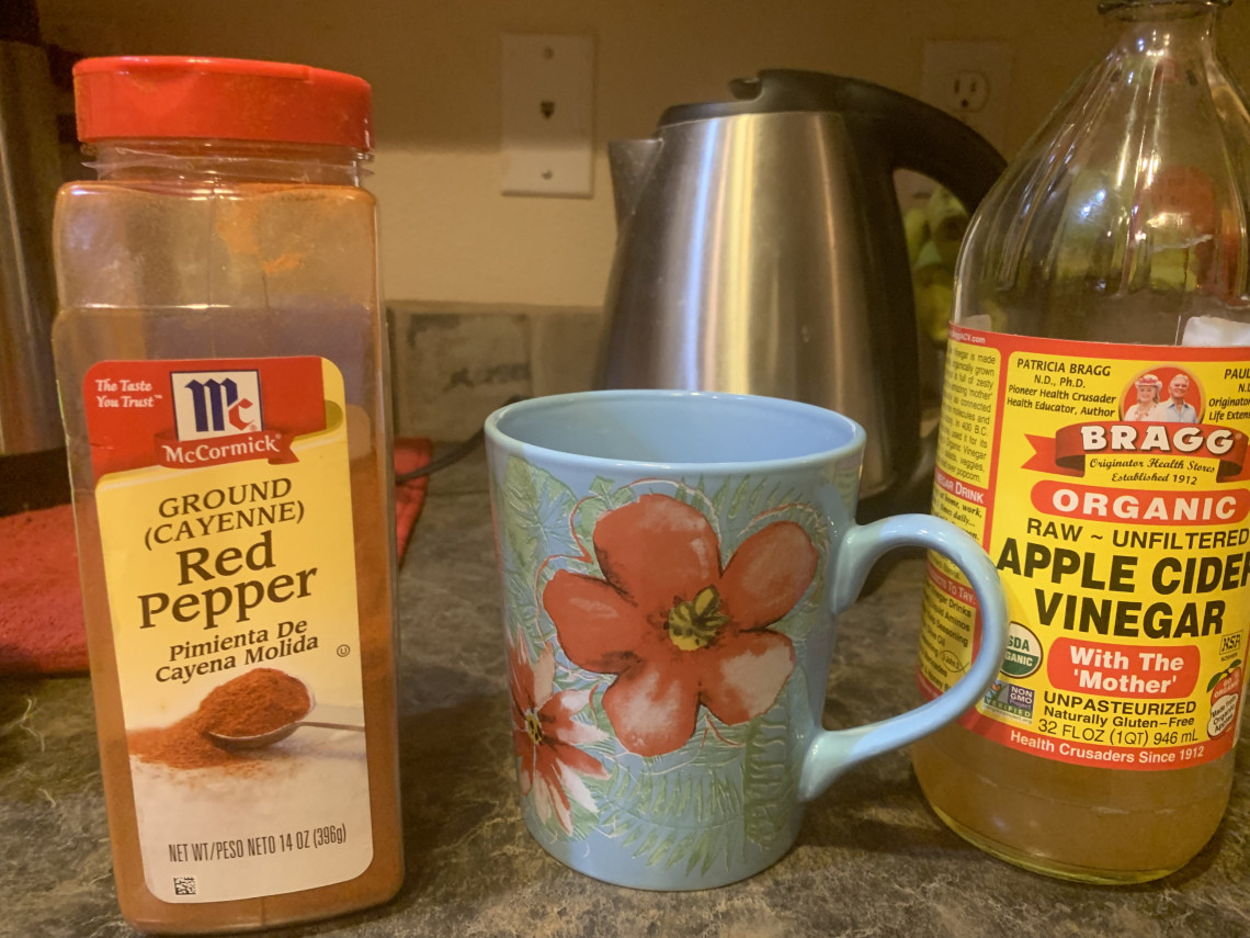 Apple cider vinegar Cayenne tea will give a boast to your running - Michael Anderson on Running FIle 1