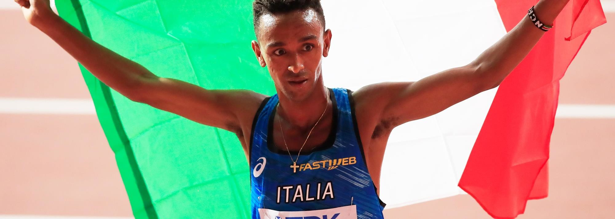 Italian athletes aiming to keep upbeat and focused are training under lockdown