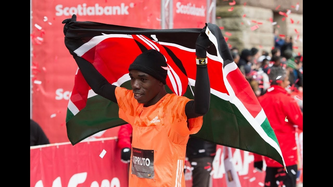 Kenya´s Benson Kipruto will Defend his Scotiabank Toronto Waterfront Marathon Title in October