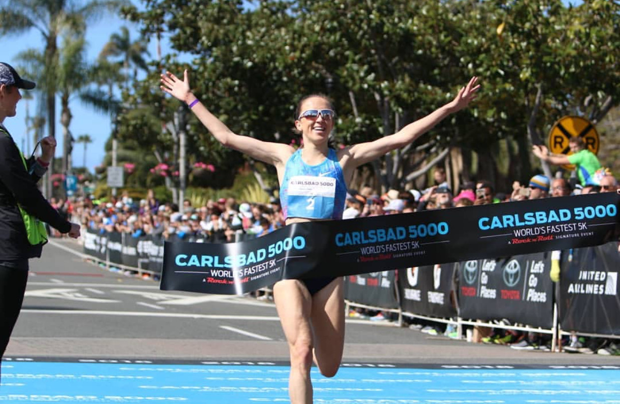 Gorecka and Berglund were the Pro winners at the 33rd Annual Carlsbad 5000