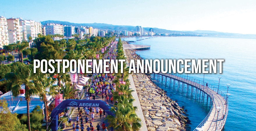 Limassol Marathon has been postponed until November, due to the coronavirus outbreak
