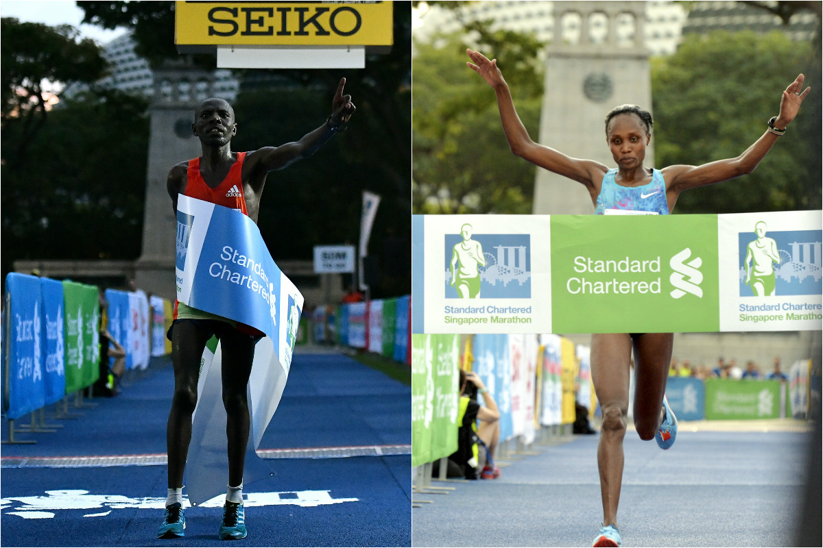 Double Kenyan triumph in Singapore