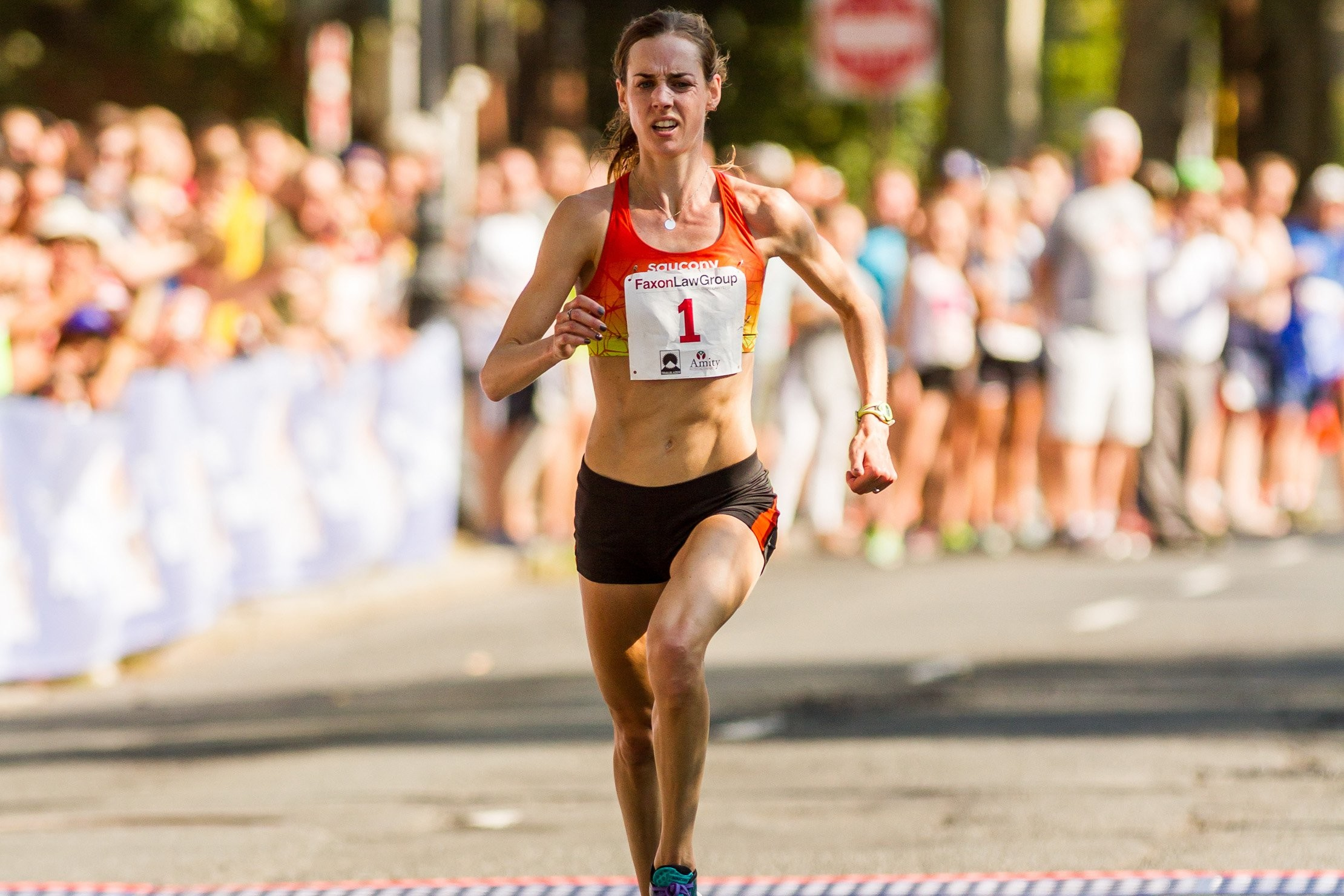 Molly Huddle Has Only Run One Marathon but...