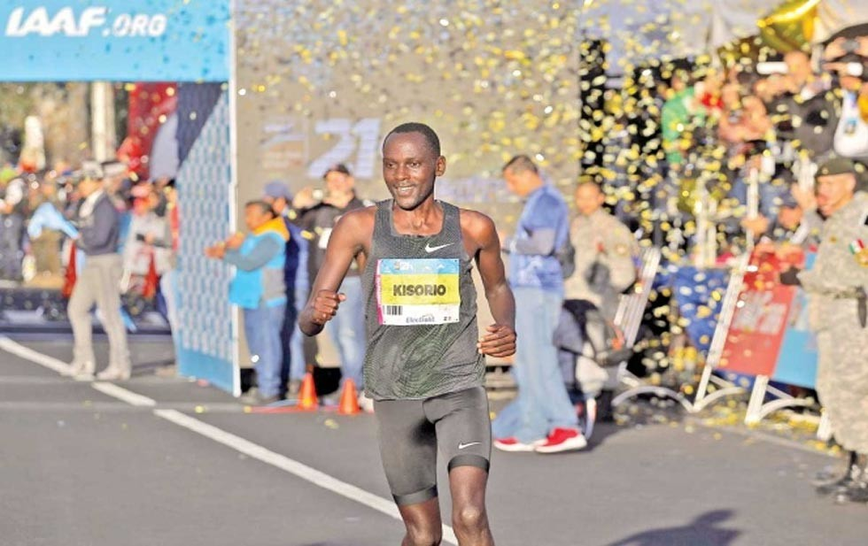 Kenyans Mathew Kipkoech and Vivian Kiplagat lead a group of eight sub-2:10 men and eight sub-2:30 women vying to become the new champions and to rewrite the records at the 37th Telcel Mexico City International Marathon on Sunday