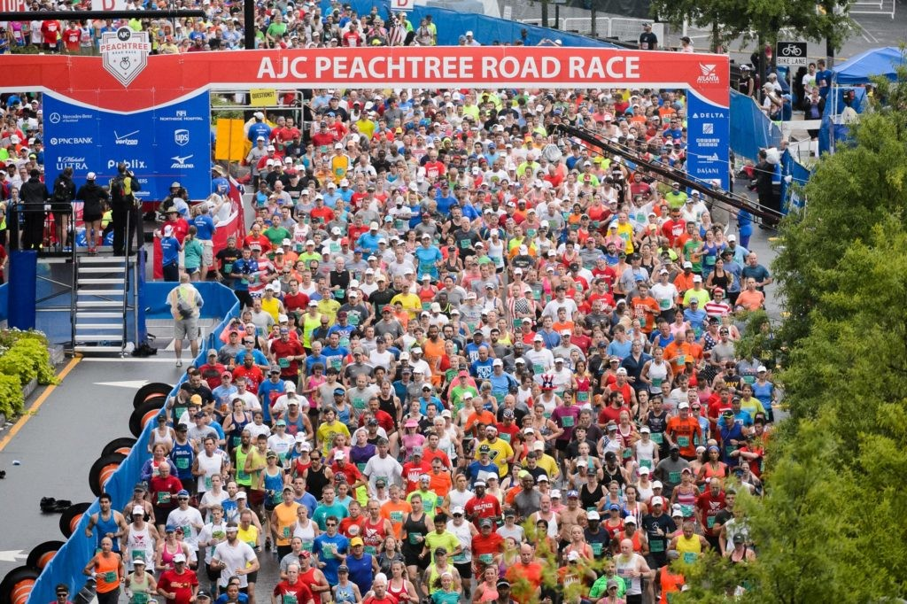 Atlanta Track Club will be hosting this year's Running of the AJC Peachtree Road Race virtually for the first time in its 51-year history