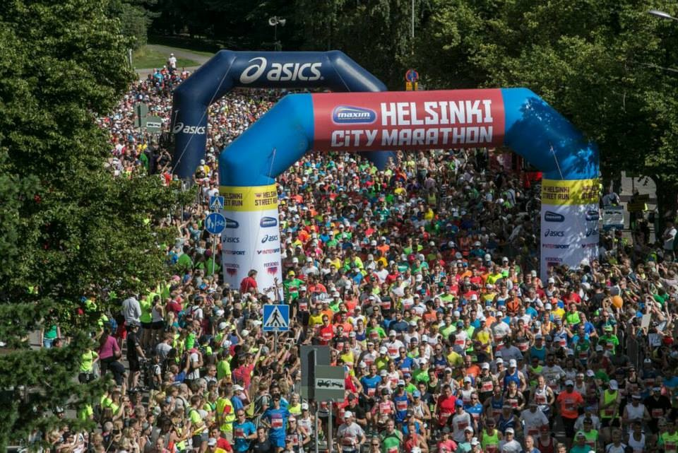 The Helsinki Marathon will be held as planned on October 3rd