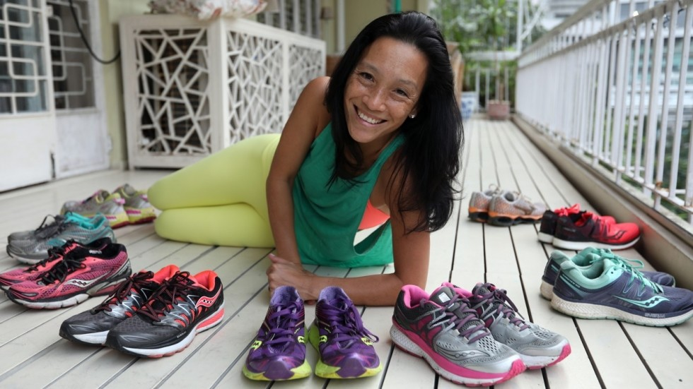 Ming Chen ran the 1989 Boston Marathon for fun, now is ready to run her 65th marathon
