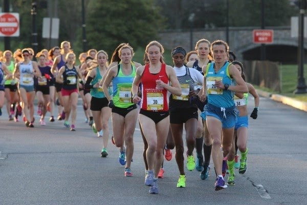 For six miles there were 20 Runners in the Lead Pack at the Cherry Blossom Ten Miler
