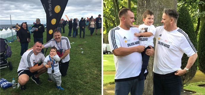 Eamonn Gribben the founder of a South Tyneside nursery is taking part in the Great North Run, to raise money for children under his care with life-limiting conditions