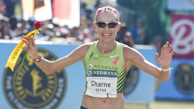 If  Charne Bosman Runs the race of her life she can win the Two Oceans Marathon