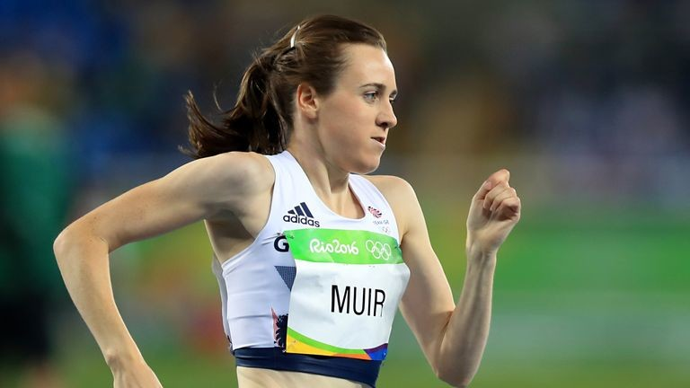 Laura Muir believes that the delay of the Tokyo Olympics could help her chances of winning medals
