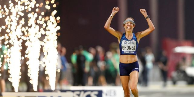 Roberta Groner, 41, Finishes 6th at Worlds Championships in Doha Marathon