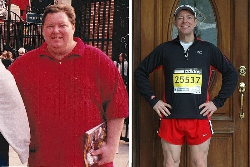 Global Run Challenge Profile: When Roger Wright was 47 he weighed 300 pounds and then he decided to run the Boston Marathon