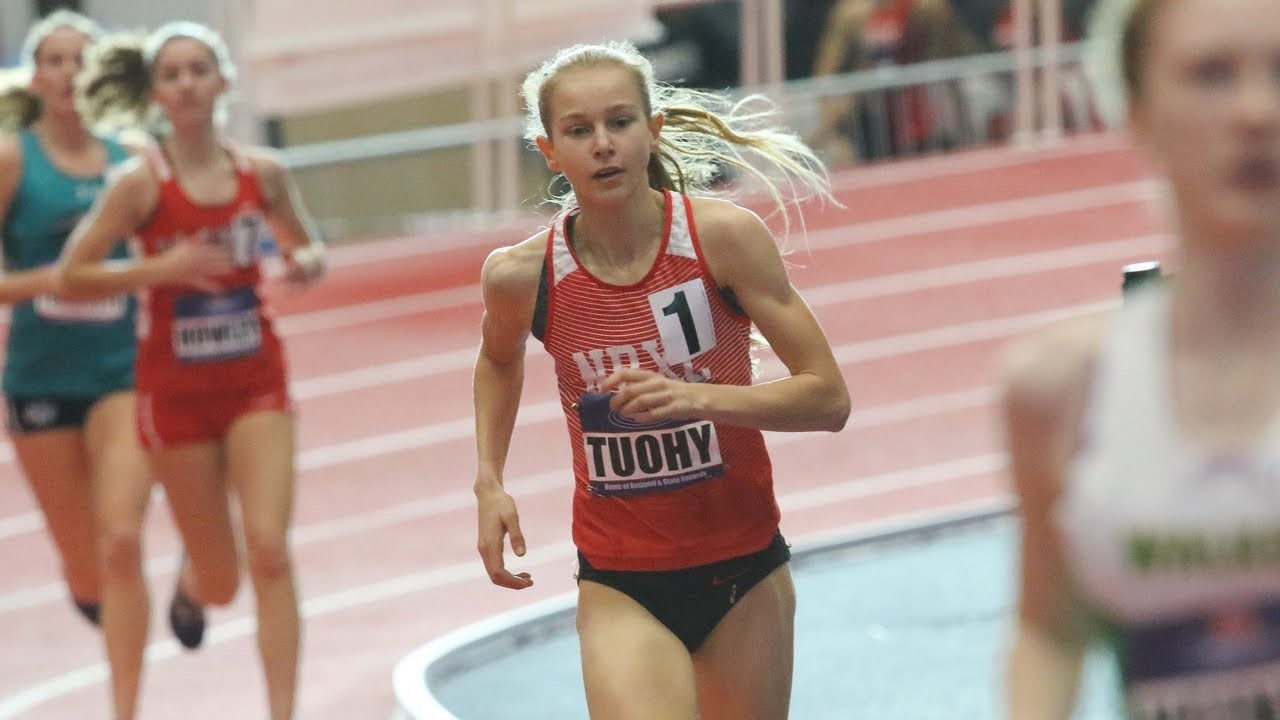 High school 3,000m record-holder Katelyn Tuohy will make her collegiate debut this weekend
