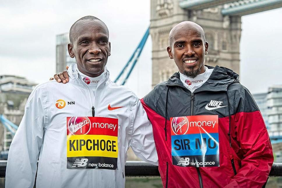 The battle at the  London Marathon is going to be starting in just a few hours