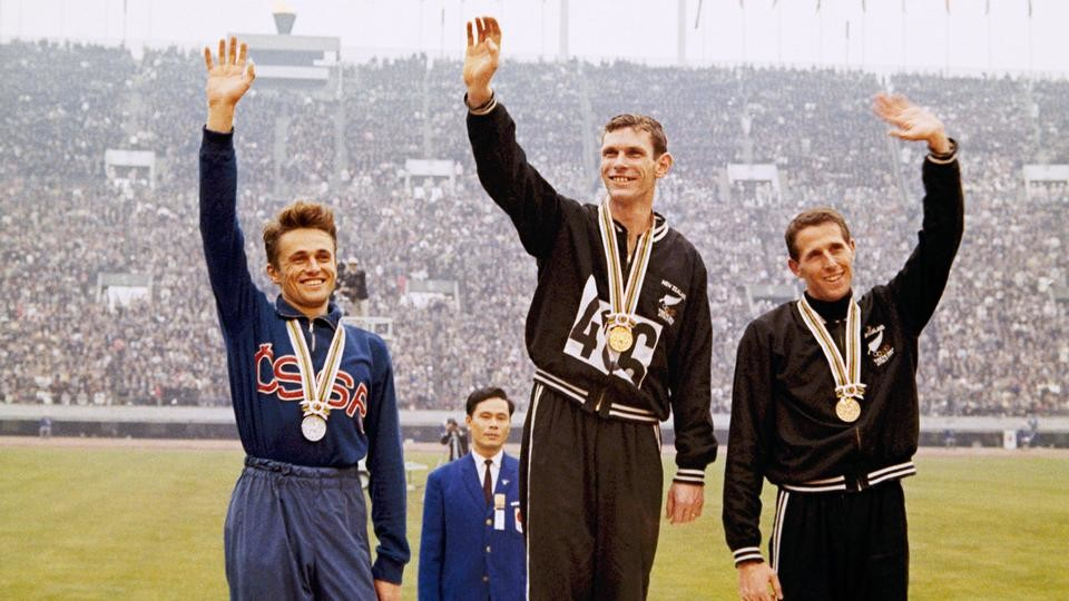 Peter Snell has died in Dallas.  He was a three-time Olympic champion and world mile record-holder