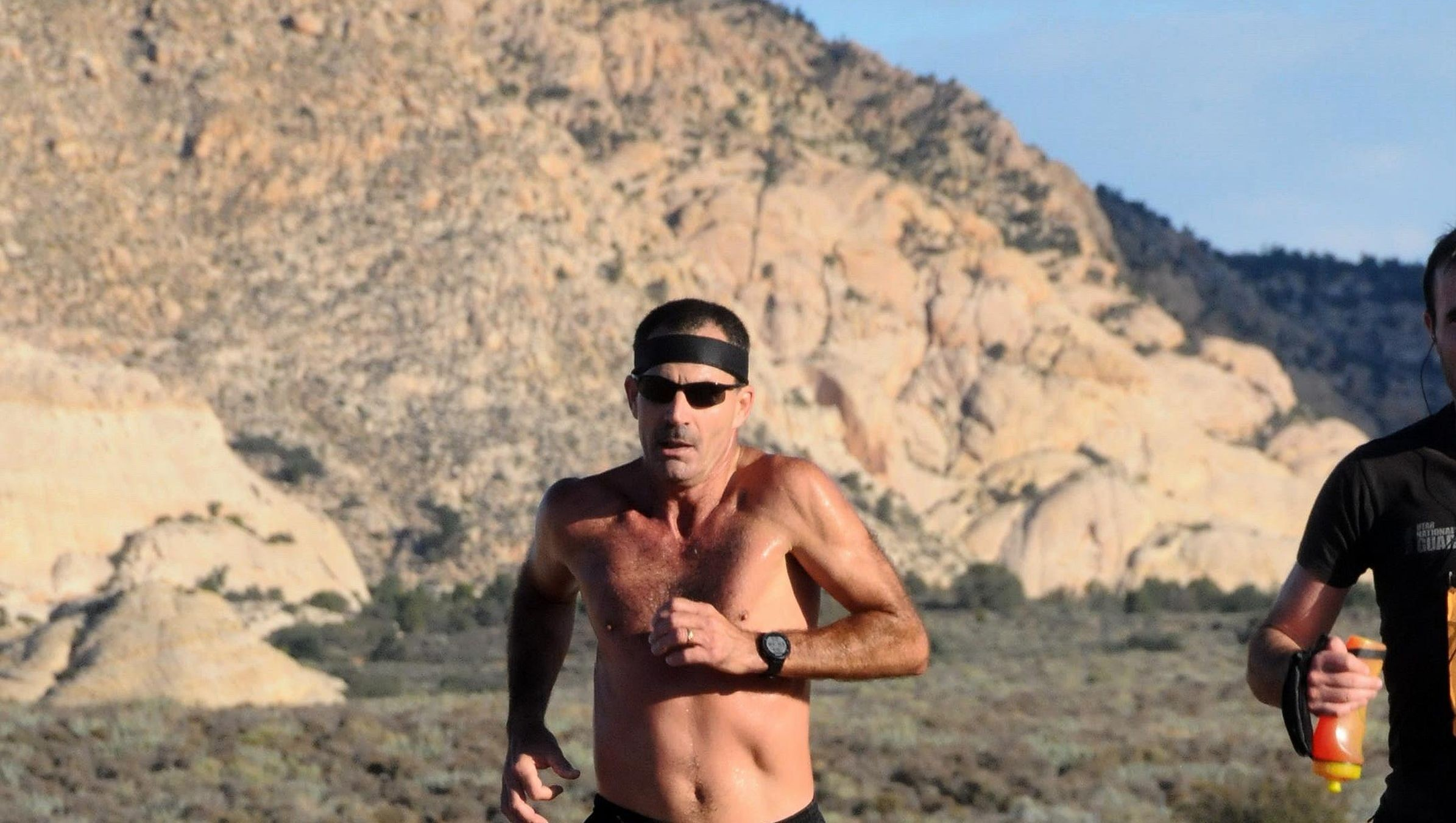 Stuart Kolb, prepares for his 100th marathon in boston this monday