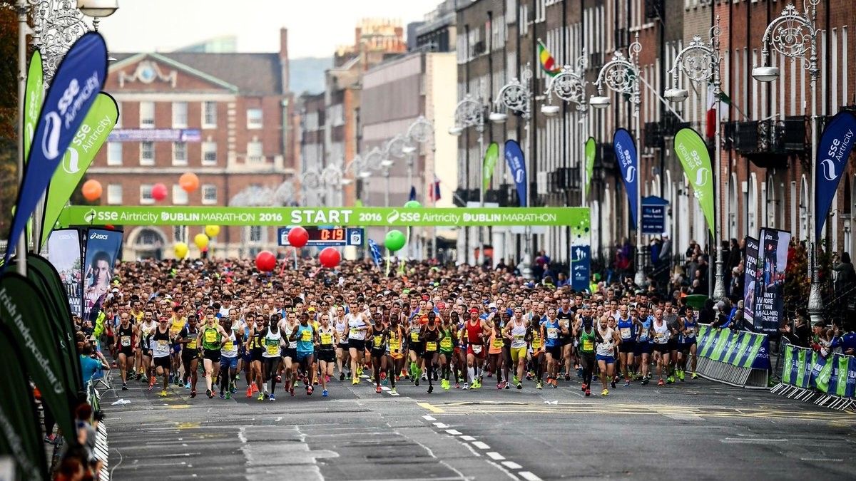KBC Dublin Marathon bosses have confirmed that October's race is now officially sold out with a record breaking 22,500 entries