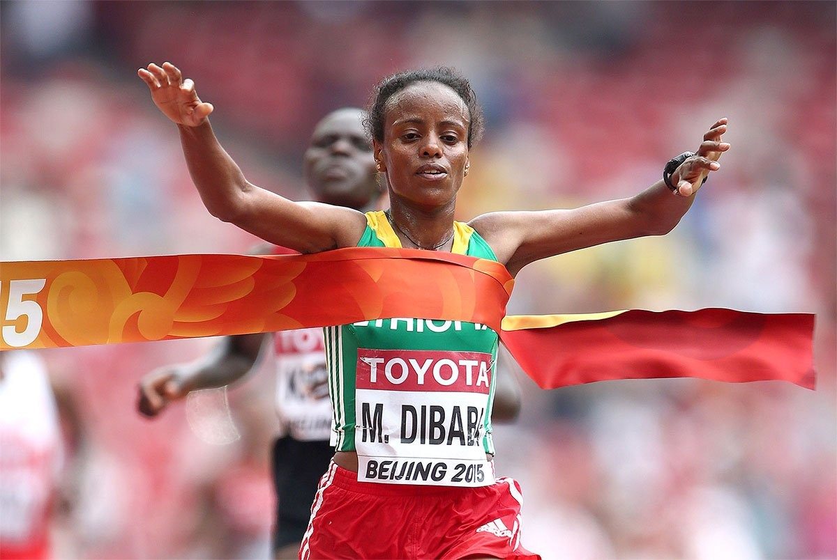 Mare Dibaba leads strong women´s field  at Mainova Frankfurt Marathon