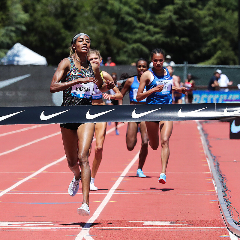 Sifan Hassan runs 8:18.49 for the win at the Women's 3000 Prefontaine Classic