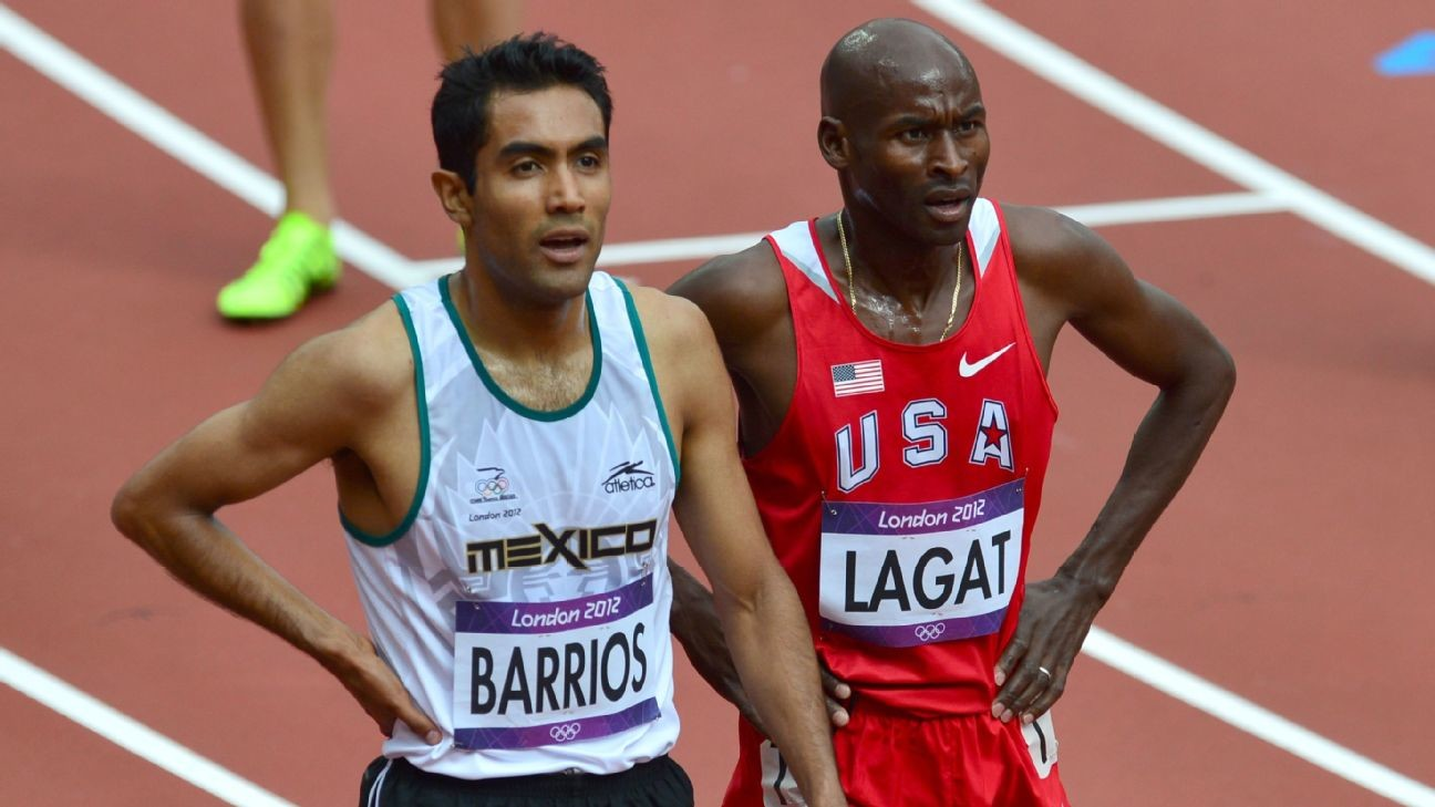 Mexico's Juan Luis Barrios is training with Bernard Lagat as they get ready for the New York Marathon