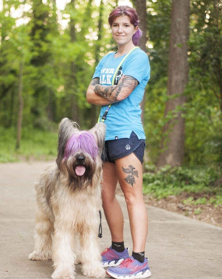 Cancer Survivor Stephanie Moore is lacing up her shoes and training for the New York City Marathon