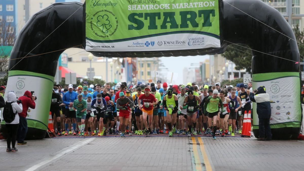 The 2019 Yuengling Shamrock Marathon Weekend generated a total impact of over $21 million for the local Virginia Beach economy