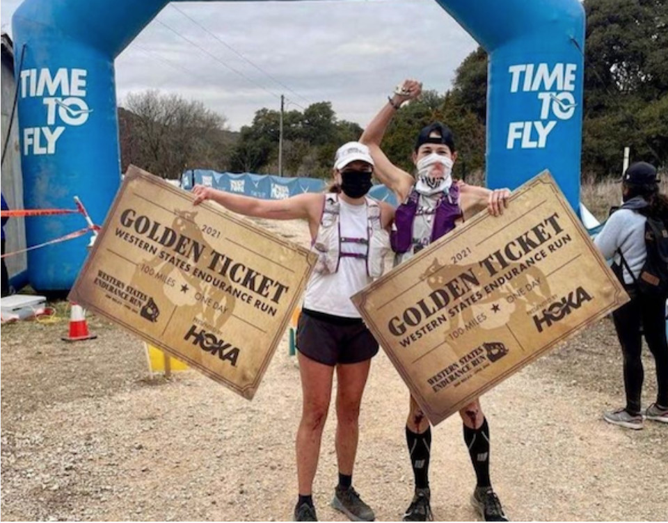 Ultrarunner falls and breaks nose, carries on to win Bandera 100K