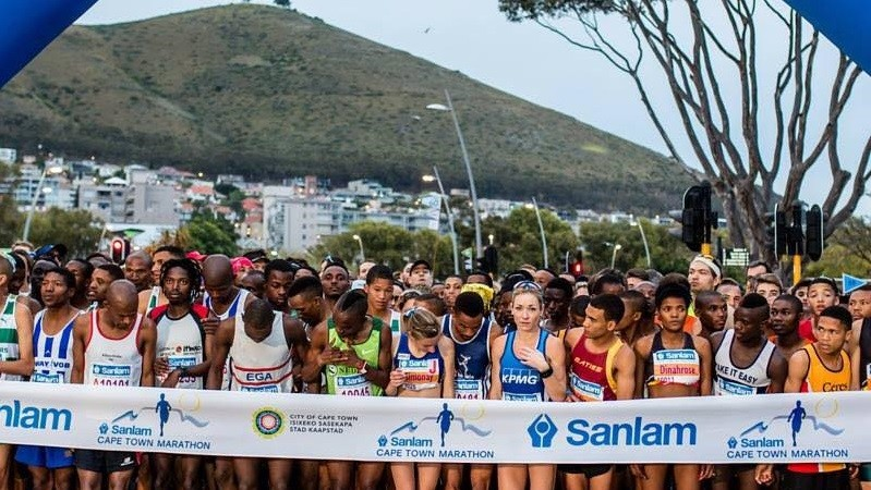 The annual Sanlam Cape Town Marathon, is running for a good cause the event will raise funds for cancer