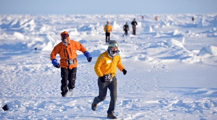 After Running a Marathon on Seven Continents...they still had one more to do